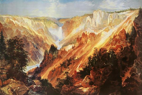 the-grand-canyon-of-the-yellowstone-thomas-moran